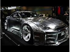 4KKUHL Racing Nissan GTR Metal Paint Osaka Auto Messe