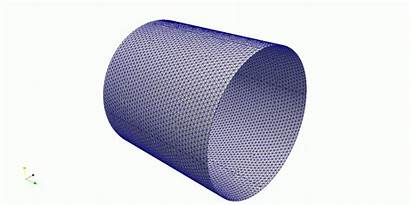 Pinched Cylinder Mofem Element Solid