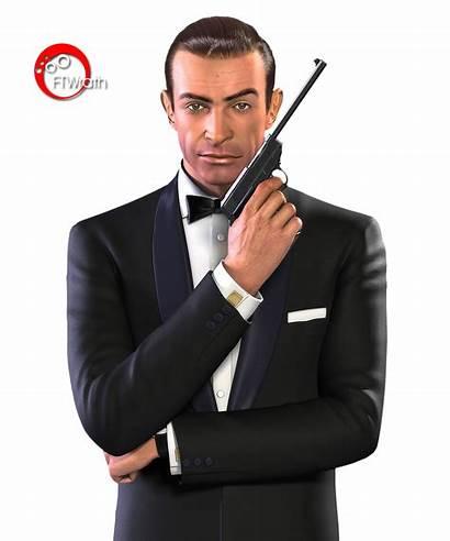 Bond James Transparent Russia Background Silhouette Sean