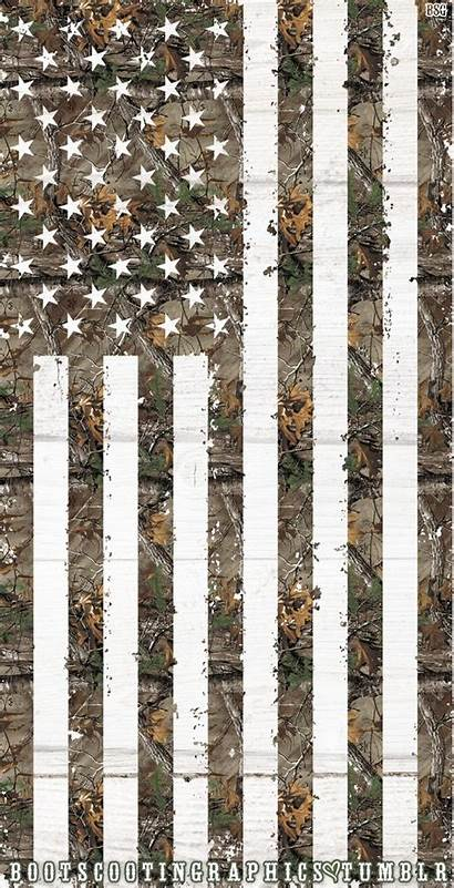 Camo Flag Realtree American Wallpapers Camouflage Iphone
