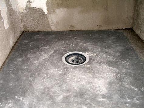 piatto doccia in opera archibagno it archistruktur struttura per realizzare