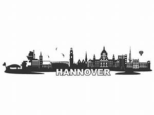 Wandtattoo Skyline Hannover Wandtattoos de