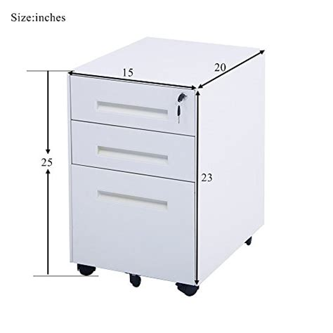 fully assembled storage cabinets merax classic metal mobile file cabinet fully assembled