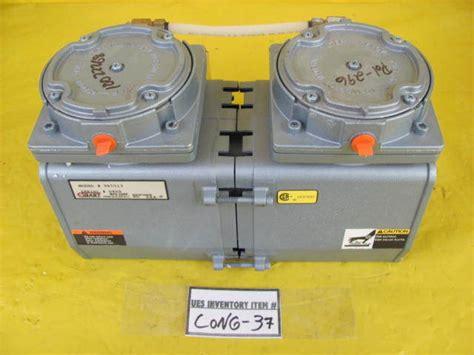 Gast 965513 Vacuum Pump Working • 2.11