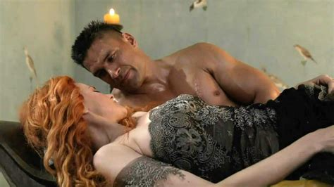 Lucy Lawless Hard Sex Scene In Spartacus Blood And Sand
