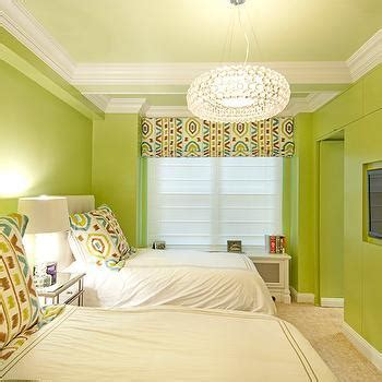 Avocado Green Paint Color Design Ideas