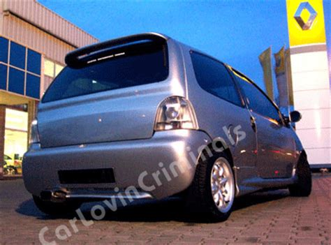 renault twingo body kit  bumper side skirts