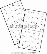Crackers Cheese Coloring Saltine Pages Template Sketch Vector sketch template