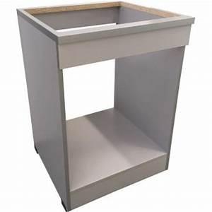 Meuble Four Plaque : brandy best mpf60 b meuble plaque four 60 cm silver achat prix fnac ~ Teatrodelosmanantiales.com Idées de Décoration