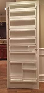 Best 25 pantry door rack ideas on pinterest diy for Pantry door storage rack