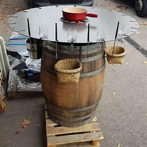 Fabriquer Une Fontaine Sans Pompe : tonneau fondue savoie loc event ~ Melissatoandfro.com Idées de Décoration