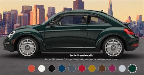 green volkswagen beetle 2017 2017 volkswagen beetle paint colors