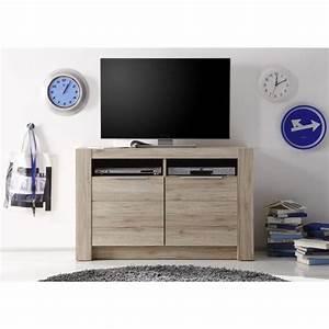 Meuble Tele Haut : meuble de tele haut table pour television ecran plat maisonjoffrois ~ Teatrodelosmanantiales.com Idées de Décoration