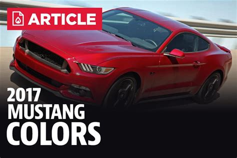2017 mustang colors color codes lmr
