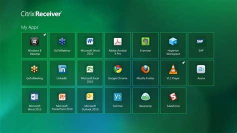 Car Apps For Windows 10 by Citrix Receiver For Windows 10 Windows Descargar