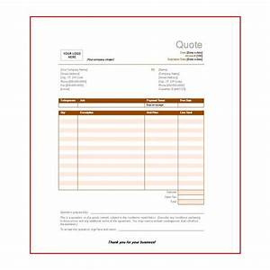 Free price quote templates available for download for It quotation template