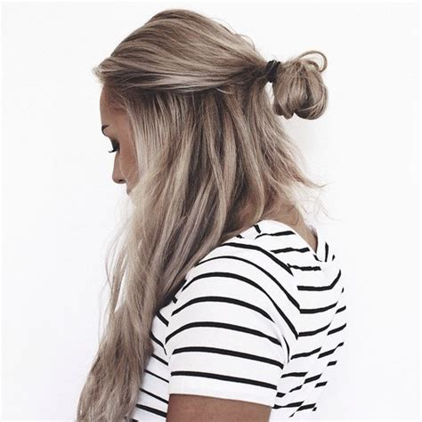 hair bun on tumblr