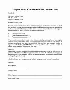 sample letter of interest download free documents for With conflict of interest declaration template