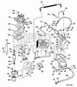Volvo Penta Exploded View    Schematic Fuel System 5
