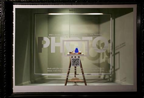 interactive scan   window display  liberty london