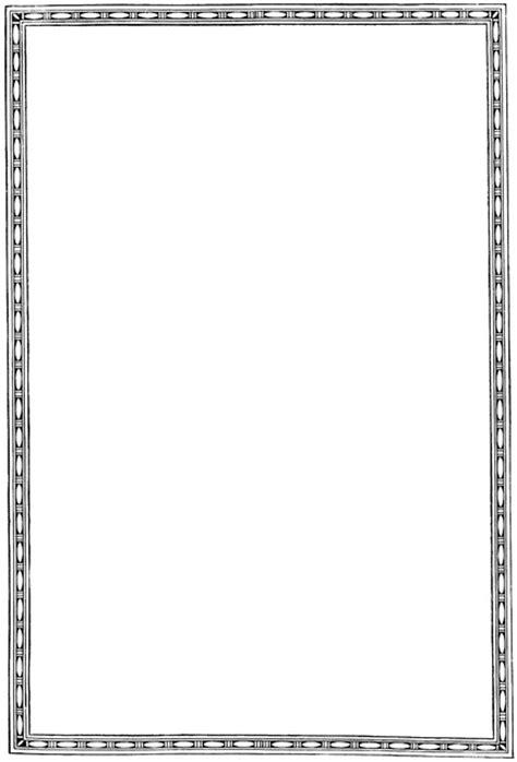 simple border clipart