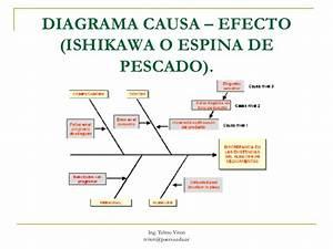 Diagrama Causa Efecto Espina De Pescado Ppt