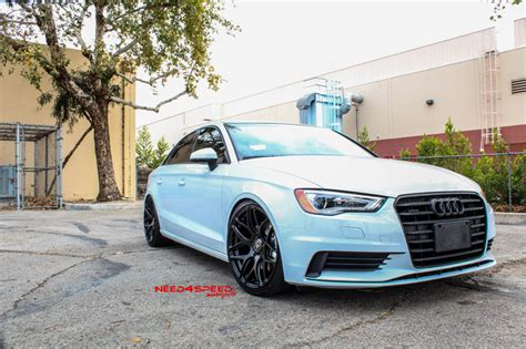 brand new 2k15 audi a3 on mrr ground force gf09 wheels