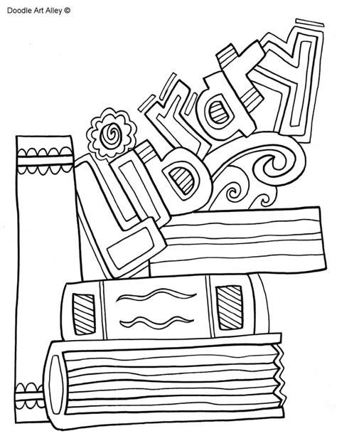 library coloring pages library coloring pages classroom doodles