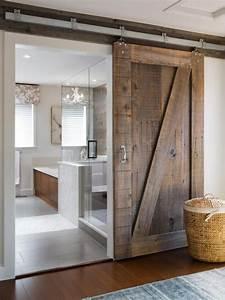 rustic bathroom barn door home decorating trends homedit