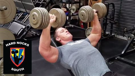 Chest Day With John Cena Hard Nocks South Life Youtube