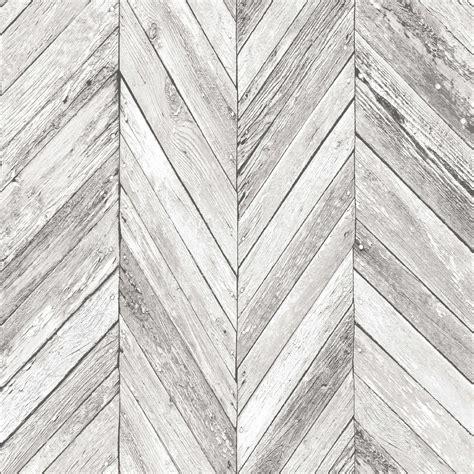 graham brown fresco grey herringbone wood wallpaper