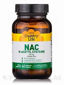 Nac N-acetyl Cysteine 750 Mg