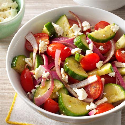 cucumber recipe balsamic cucumber salad recipe taste of home