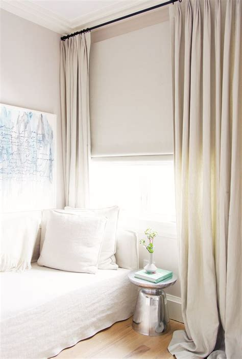 Neutral Curtains, Curtains And White Bedrooms On Pinterest