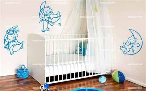 stickers lapin chambre bébé stickers tête de lit bébé lapin