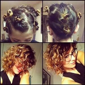 Easy Overnight Hair Curling For Short Hair Natural