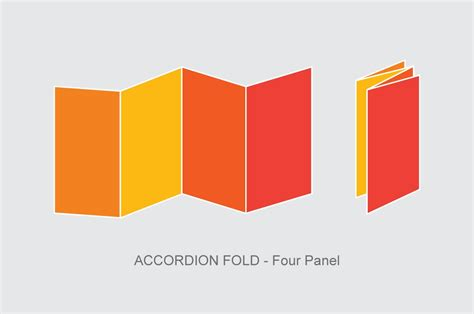 Accordion Fold Brochure Template by 8 Accordion Fold Brochure Printable Psd Ai Indesign Vector