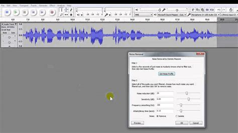 learn how to easily remove hum hiss or noise in your audio with free audacity editing software