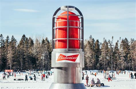 budweiser goal light spotted budweiser tours its light 187 media in canada