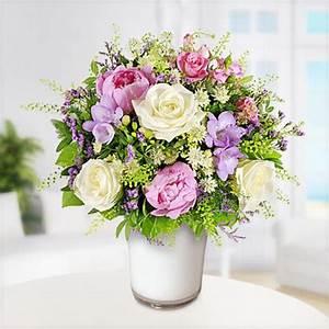 Bilder Von Blumenstrauß : blumenstrau lichtblick mit weisser vase von blume2000 ansehen ~ Buech-reservation.com Haus und Dekorationen