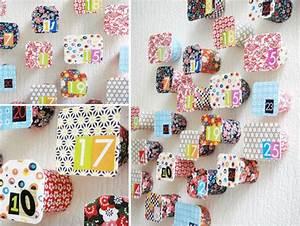 Fabriquer Un Calendrier De L Avent : le calendrier de l 39 avent en pots de yaourts ~ Nature-et-papiers.com Idées de Décoration