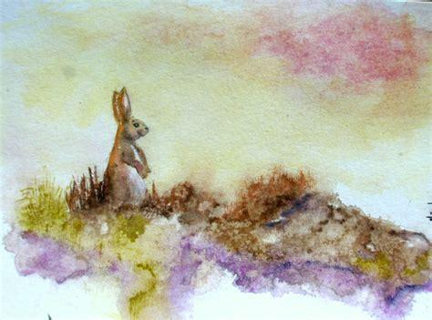 chambre lapin aquarelles pour chambre d 39 enfant mars atelier