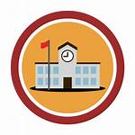 Icon Transparent Landmark Round Svg Pixels Wikimedia