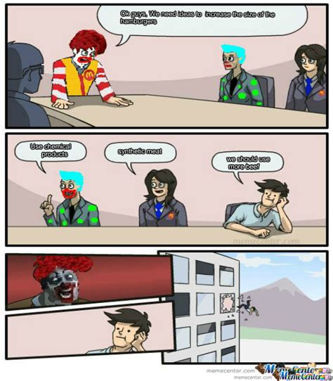Conference Room Meme - meeting room mcdonalds by daniel 103 meme center