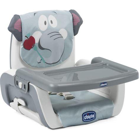 si e de table chicco réhausseur de table mode baby elephant de chicco sur allobébé