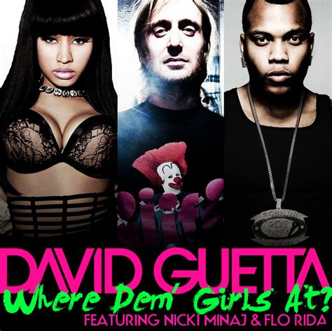 testo traduzione  video   girls  david guetta
