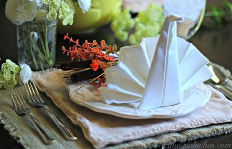 thanksgiving table setting ideas this thanksgiving table setting pinkwhen