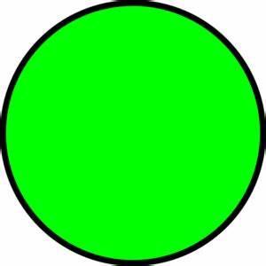Green Circle clip art - Polyvore