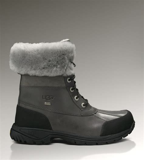 mens ugg butte 5521 boots grey ugg boots sale