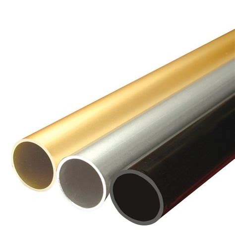 Closet Rod Length by 1 5 16 Quot Diameter Satin Chrome Finish Aluminum Closet